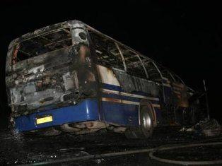 Под Новосибирском автобус столкнулся с КамАЗом: 5 погибших, 19 пострадавших