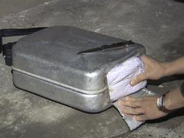 Таджики везли в Ижевск 13 кг героина в канистре