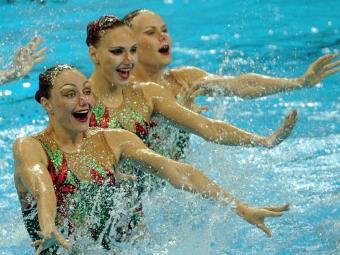 Российские синхронистки выиграли третью золотую медаль на чемпионате мира
