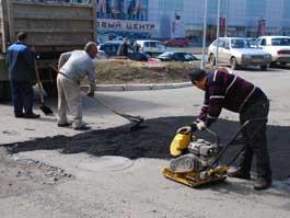 Как ремонтируют дороги в Ижевске