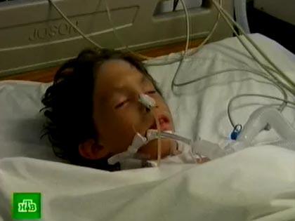 Состояние ребенка, получившего травму в Турции, тяжелое