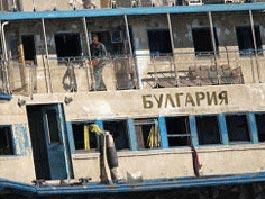 Теплоход «Булгария» полностью заведен в док