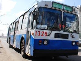 В Ижевске троллейбусы №1 и 2 поменяют свой маршрут