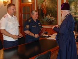 Священники Удмуртии будут помогать спасателям и пожарным