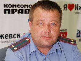 Глава Госавтоинспекции Удмуртии стал вторым официальным полицейским