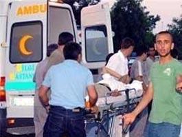 В Турции перевернулся автобус с 25 туристами