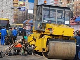 В Ижевске потратят 100 миллионов рублей на ремонт дорог, перекрестка и остановок