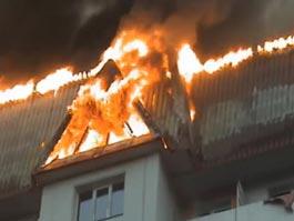 В Ижевске девятиклассник спалил крышу родительского дома