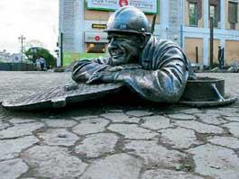 В России появился еще один «бронзовый» сантехник