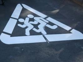 В Ижевске к 1 сентября на дороги нанесут 700 знаков «Дети!»