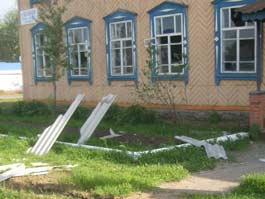 В Малопургинском районе обследуют хозпостройки и дачи, пострадавшие от взрывов в Пугачево