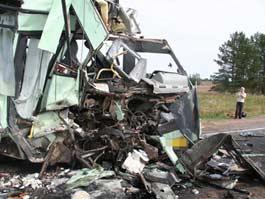 Число жертв страшного ДТП с автобусом в Удмуртии выросло до 5 человек