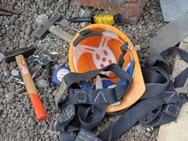 В Удмуртии строитель сорвался с пятиметровой высоты