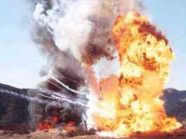 В Астраханской области взорвались боеприпасы