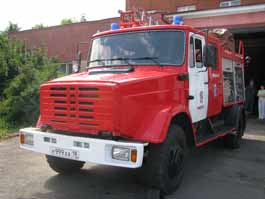 В Удмуртии пожар стал причиной взрыва двух газовых баллонов