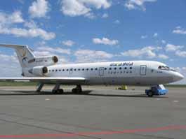 Самолет «Ижавиа» совершил аварийную посадку