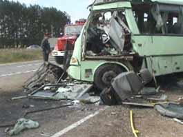ДТП с рейсовым автобусом в Удмуртии: трое пострадавших до сих пор в реанимации