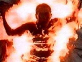 Подросток из Удмуртии, перелезая через цистерну, загорелся