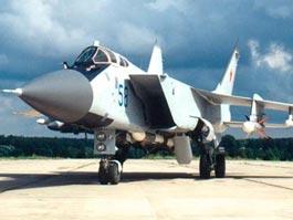 В России временно приостановлены полеты МиГ-31