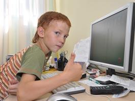 В ижевской школе первоклассникам выдали персональные компьютеры