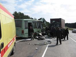 Подведены первые итоги следствия по аварии автобуса на трассе Ижевск – Глазов