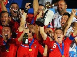 Россия впервые выиграла Чемпионат по пляжному футболу