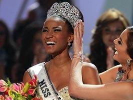 Темнокожая представительница Анголы стала «Мисс Вселенной»