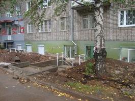 Опасная стройка по улице Карла Маркса в Ижевске: жители подают в суд на застройщика