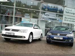 В Ижевске представили новый Volkswagen Jetta