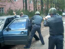 В Удмуртии после погони полиция задержала пьяного автоугонщика