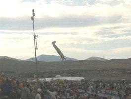 На авиашоу в Неваде самолет рухнул на толпу зрителей