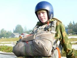 Шестиклассник из Ижевска стал самым юным парашютистом в России