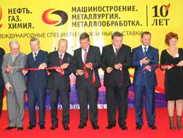 В Ижевске стартовали юбилейные выставки «Нефть. Газ. Химия» и «Машиностроение. Металлургия. Металообработка»