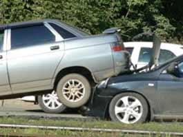 ДТП на улице Ленина в Ижевске: столкнулись четыре машины