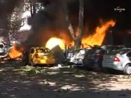 В столице Турции прогремел взрыв