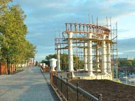 В Ижевске открывают новую ротонду - копию построенной около 80 лет назад