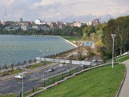 Ремонт ижевской набережной продолжится в 2012 году