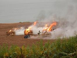 В Ижевске пожарные опробовали новую технику