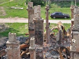 В Пугачево увеличилось количество поврежденных от взрывов строений