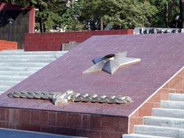 Во Владивостоке из-за долгов флота потух Вечный огонь