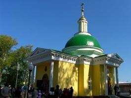 В Ижевске открыли расписанный храм около вокзала