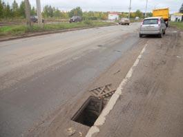 В Ижевске пропадают решетки ливневой канализации