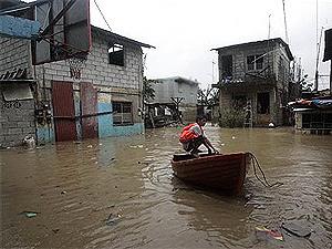 Турецкий курорт Анталья затоплен проливными дождями