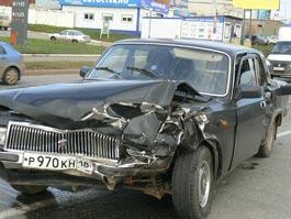 Массовая авария в Ижевске: на Удмуртской столкнулись 4 машины