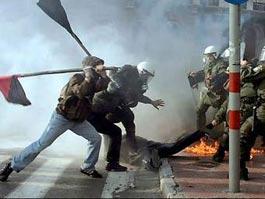 Грецию охватили новые беспорядки