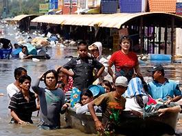 Власти Таиланда: Бангкок скоро затопит