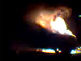Очевидцы пожара с Infiniti в центре Ижевска: на поджог это не похоже