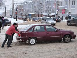 Центр Ижевска зимой обещают избавить не только от снега, но и от песка