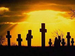 Жители Удмуртии бронировали места на кладбище за 1200 рублей