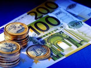 Курс евро упал почти на 52 копейки